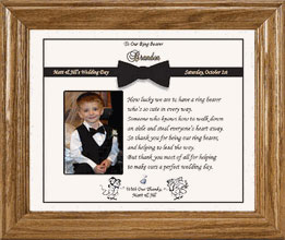 Wedding Gift Ideas For Ring Bearer : ... wedding day. This thank you gift for your ring bearer will be a